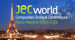 JEC WORLD LE RENDEZ VOUS MONDIAL DES COMPOSITES – Du 08/03/16 au 10/03/16