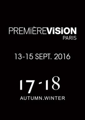 PREMIERE VISION PARIS   Du 13/09/16 au 15/09/16
