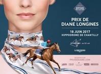 Le Grand Prix de Diane Longines vous donne rendez-vous le dimanche 18 juin dans l'hippodrome de Chantilly à partir de 11h30.